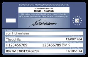 electronische Gesundheitskarte